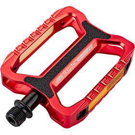 Sixpack Network Pedals red